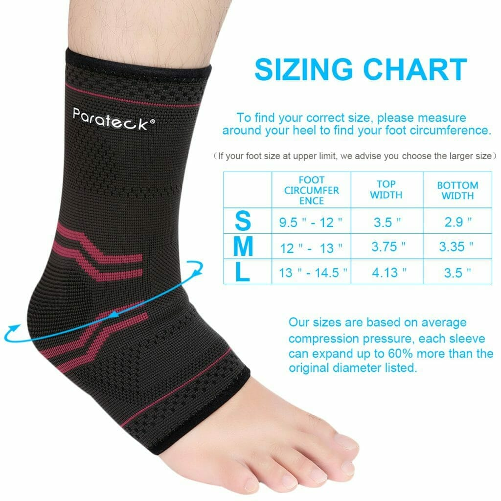 083175dc65 Standing Supports foot sleeves best plantar fasciitis achilles tendonitis sleeve  compression ankle ...