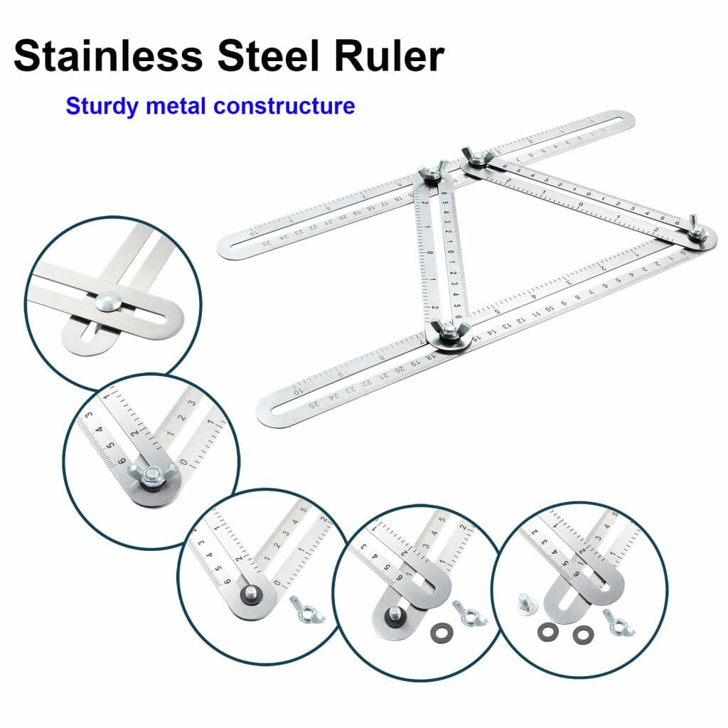 Stainless Steel Angleizer Template Tool Angle Finder Product